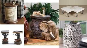 Decorative Coffee Tables Home Decor Ideas How To Decorate Using Small Side Tables