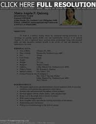 Sample Resume In The Philippines by Awesome Collection Of Sample Resume Philippines With Additional