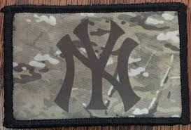 American Flag Morale Patch New York Yankees Uniform Usa Flag Morale Patch Tactical Military