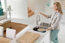 moen level kitchen faucet moen brings airport bathroom level convenience to your kitchen
