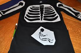 Halloween Skeleton Cut Out by How To Make A Pregnant Skeleton Costume For Halloween