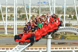 in abu dhabi roller coaster the most things to do in abu dhabi