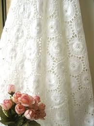 Lace Fabric For Curtains White Eyelet Fabric Eyelet Fabric Pinterest Fabrics Retro
