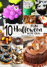 Fun Halloween Appetizer Recipes by 100 Halloween Snacks Ideas Best 10 Scary Halloween Treats