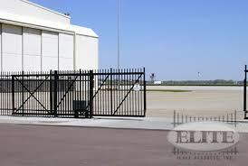 ziptrack box frame aluminum cantilever gates elite fence