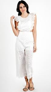 white romper jumpsuit rompers jumpsuits angl