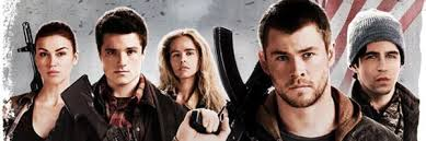 Red Awn Red Dawn Poster Featuring Chris Hemsworth And Josh Hutcherson
