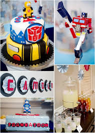 transformer party favors transformers decorations ideas decor accents