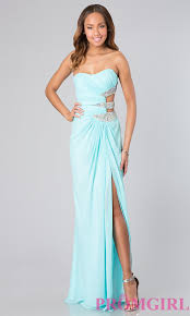 strapless cut out gown faviana strapless pageant gowns promgirl
