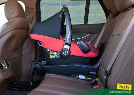 si e auto recaro monza testy dziecko w mercedesie klasa e foteliki i wózki mercedes