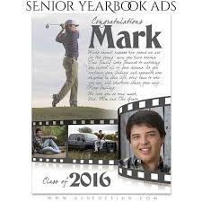 how to make a senior yearbook ad yearbook ads ashedesign