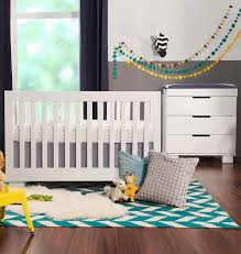 Hudson 3 In 1 Convertible Crib by Bedroom Babyletto Hudson Babyletto Modern Baby Cribs Gray