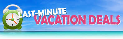 vacation specials last minute deals