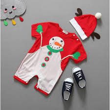 china baby christmas rompers with reindeer hat newborn first