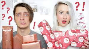 surprise christmas gift giving with my boyfriend sophie louise