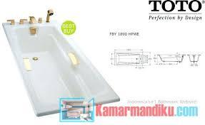 Bathtub Indonesia Acrylic 10toto Bathtub Reviews Harga Toto Di Indonesia