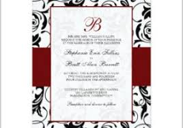 Red And Black Wedding Invitations Red Black And White Wedding Invitations In Addition To Red Black
