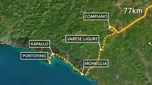 Cinque Terre Map Tag 4 Compiano Rapallo 77 Km Wunderschön Fernsehen Wdr