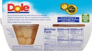 Fruit Bowls by Amazon Com Dole Fruit Bowls Diced Pears In Juice 4 Cups Pack