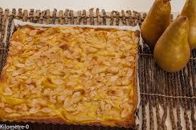 blogs cuisine facile gâteau fondant aux poires kilometre 0 fr