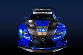 2015 lexus rc debuts at lexus details rc f gt3 new f performance racing team motor trend