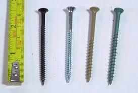drywall screws vs other types of wood screws