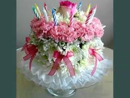 flower birthday birthday cakes with real flowers tasty watering picture