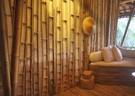 excellent eco friendly bedroom interior design ideas with bamboo