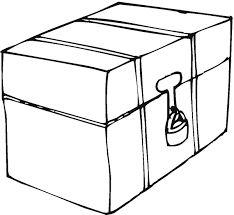 Happy Box Coloring Page 27 5573 Box Coloring Pages