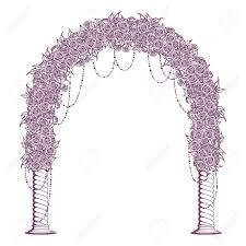 wedding arches columns gate clipart wedding pencil and in color gate clipart wedding