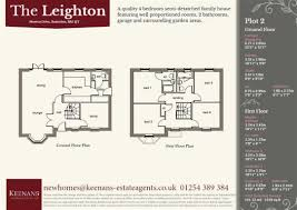 4 bedroom detached new house for sale in newton drive baxenden