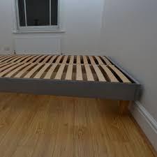Bed Frame Legs For Hardwood Floors 6ft Super King Size Custom Made Goring Upholstered Bed Frame