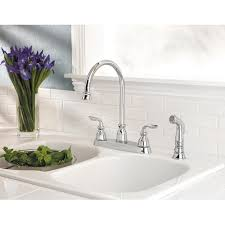 Price Pfister Avalon Kitchen Faucet by Pfister Avalon Widespread 4 Kitchen Faucet Gt36 4cbc Polished