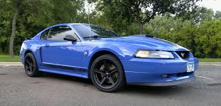 Black Mustang Saleen I Finally Got My Hands On A Mach 1 2004 Azure Blue Here Is My