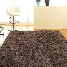 metallic thick shag rug mixed brown temple u0026 webster