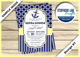nautical bridal shower invitations tying the knot bridal shower invitation nautical bridal