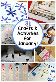 31 days of kids activities for january free winter activity