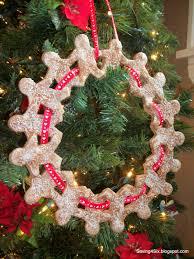 salt dough wreath