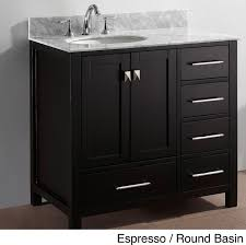 Inch Single Sink Bathroom Vanity Set Contemporary Bathroom - 36 inch single sink bathroom vanity