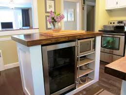 Kitchen Island With Pull Out Table Movable Kitchen Island Ideas With Slide Out Table U2014 Kitchen U0026 Bath