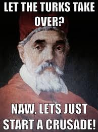 Meme Urban - pope vs king julianna tomaselli