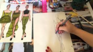 fashion sketch tutorial how to make a fashion sketch fast and easy