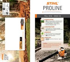 stihl proline fall 2016 issue 16 by stihl canada issuu