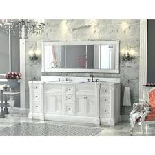 84 inch vanity cabinet 84 bathroom vanity double sink inch white finish double sink
