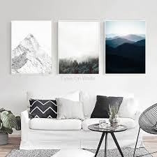 aliexpress com buy nordic landscape poster print scandinavian