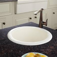 Del Corso Cast Iron DropIn Prep Sink Kitchen - Kitchen prep sinks