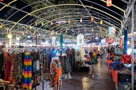 chiang mai thailand march 10 bazaar market one of