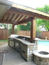 inexpensive outdoor kitchen ideas backyard kitchen ideas mycrappyresume com