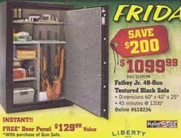 black friday deals on gun safes black friday deal liberty fatboy jr lfj48 48 gun safe w free