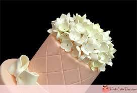 Hydrangea Wedding Simple Pink Hydrangea Bridal Shower Cake Bridal Shower Cakes